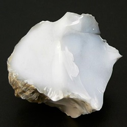 Cacholong - White Chalcedony - Kalmuk Agate