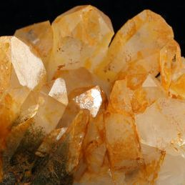 Cuart cu Limonit - Quartz with Limonite - Golden Healer - Sagenitic Quartz
