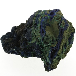 Azurit cu Malachit - Azurite with Malachite