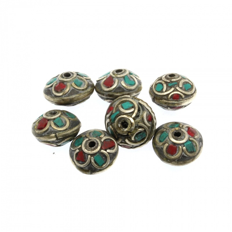Margele Nepal Disc 12x11 mm