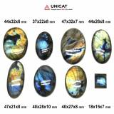 Cabochon Labradorit 18-47 x 15-32 x 6-10 mm - Unicat