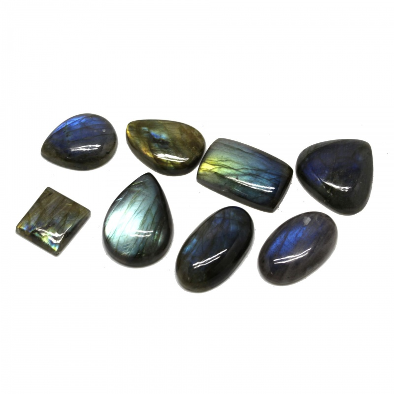 Cabochon Labradorit 17-30 x 15-25 x 5-9 mm - Unicat