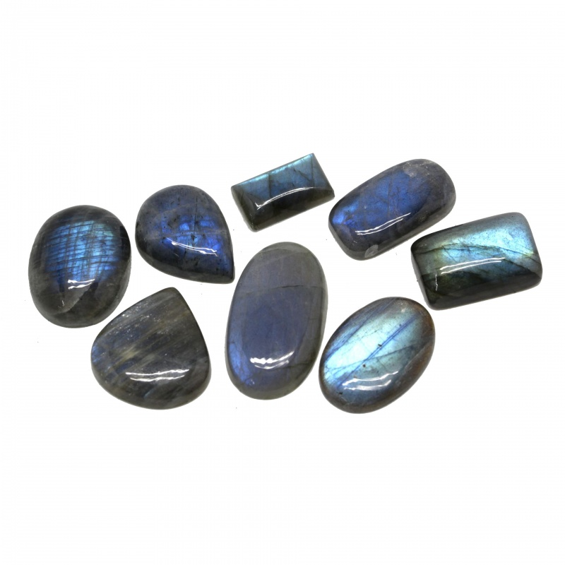 Cabochon Labradorit 20-36 x 11-25 x 5-9 mm - Unicat