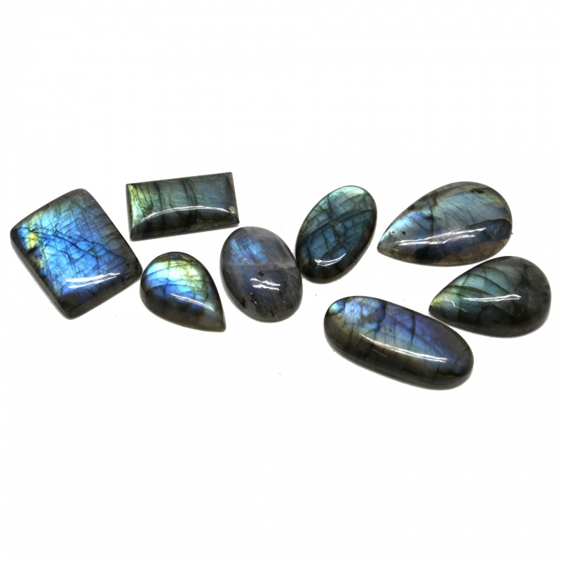 Cabochon Labradorit 26-39 x 16-24 x 5-8 mm - Unicat
