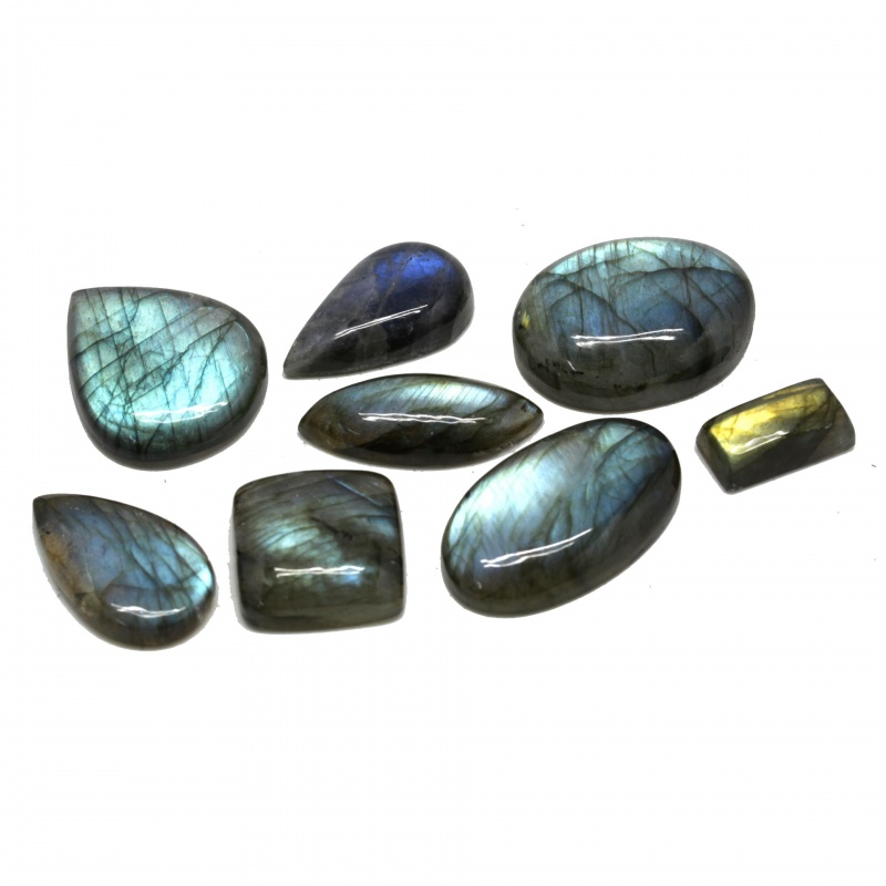 Cabochon Labradorit 18-34 x 10-25 x 6-10 mm - Unicat