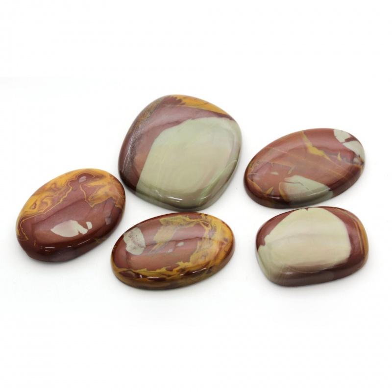 Cabochon Jasp Noreena 33-39 x 25-36 x 6-8 mm - Unicat