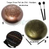 Tongue Drum din Otel - Handpan - 29 x 29 x 17 cm