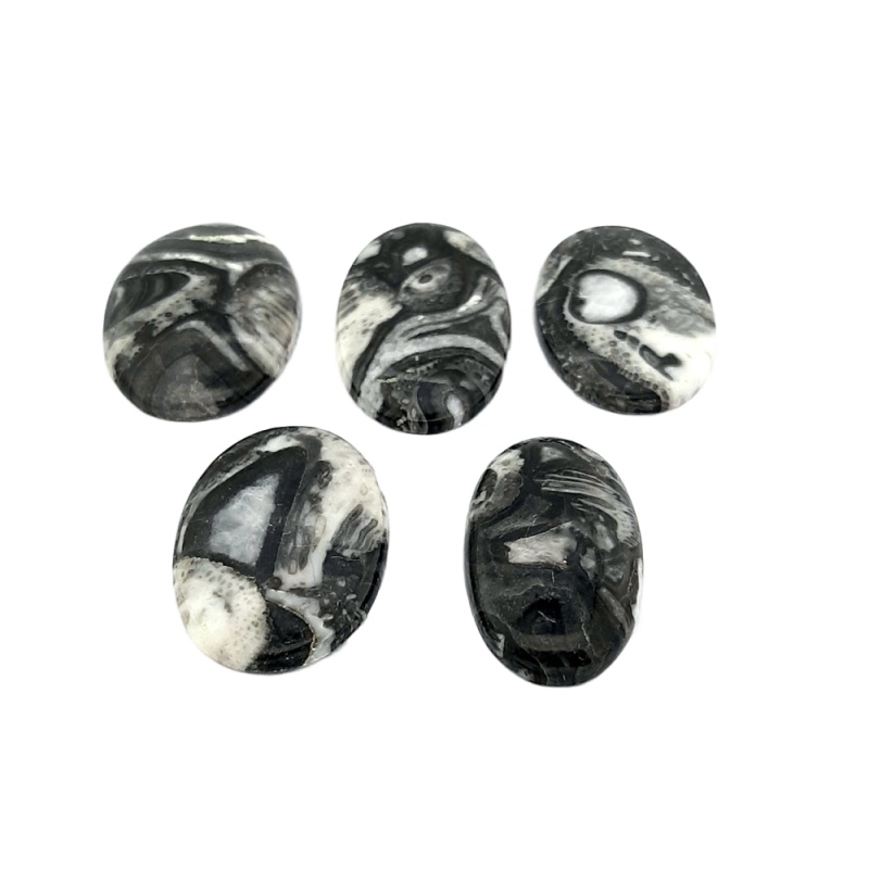 Cabochon Jasp Rembo Oval - 41-47x23-30x4-7 mm