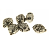 Margele din metal placat spirituala 17x13 mm - 5 Buc