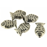 Margele din metal placat animal 16x10 mm - 6 Buc