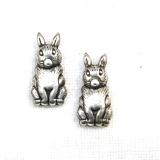 Margele din metal placat animal 22x12 mm - 4 Buc
