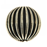 Margele din metal placat rotund neregulat 16 x 16 mm - 3 Buc