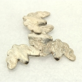 Margele din metal placat animal 15x22 mm - 4 Buc