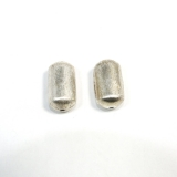 Margele din metal placat 24x12 mm- 2 Buc