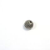 Margele din metal placat rotund neregulat 27x28 mm - 1 Buc