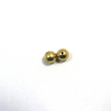 Margele din metal placat rotund neregulat 10 x 10 mm - 6 Buc