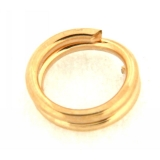 Za Split gold filled rotunda 4.5 mm