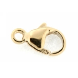 Inchidere gold filled Balloon Lobster - Oval Trigger Clasps 9 x 5 mm