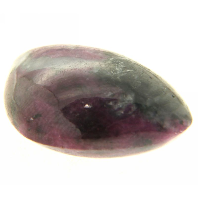 Cabochon Rubin in Zoisit neregulat 19 x 31 mm