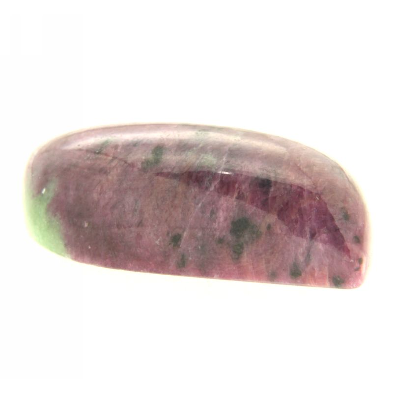 Cabochon Rubin in Zoisit neregulat 19 x 41 mm