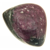 Cabochon Rubin in Zoisit neregulat 22 x 26 mm