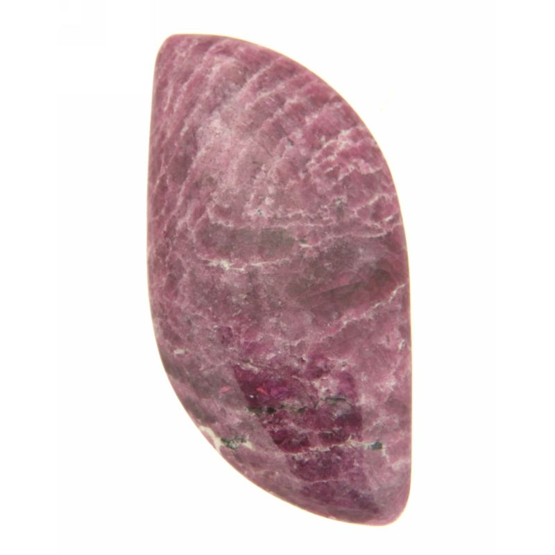Cabochon Rubin in Zoisit neregulat 22 x 42 mm