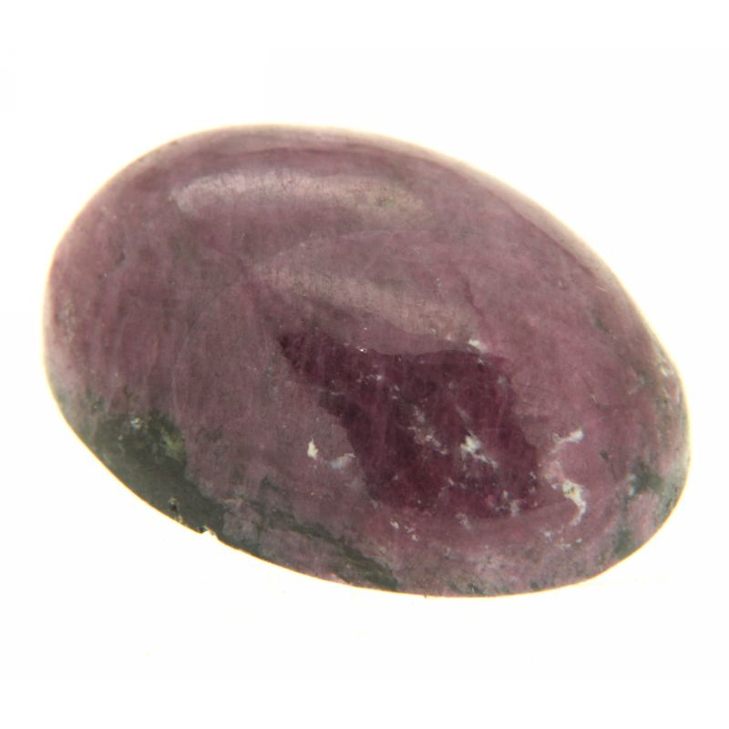Cabochon Rubin in Zoisit oval 18 x 24 mm