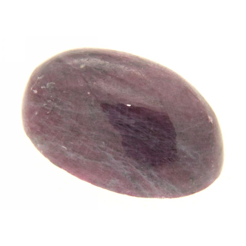 Cabochon Rubin in Zoisit oval 20 x 29 mm
