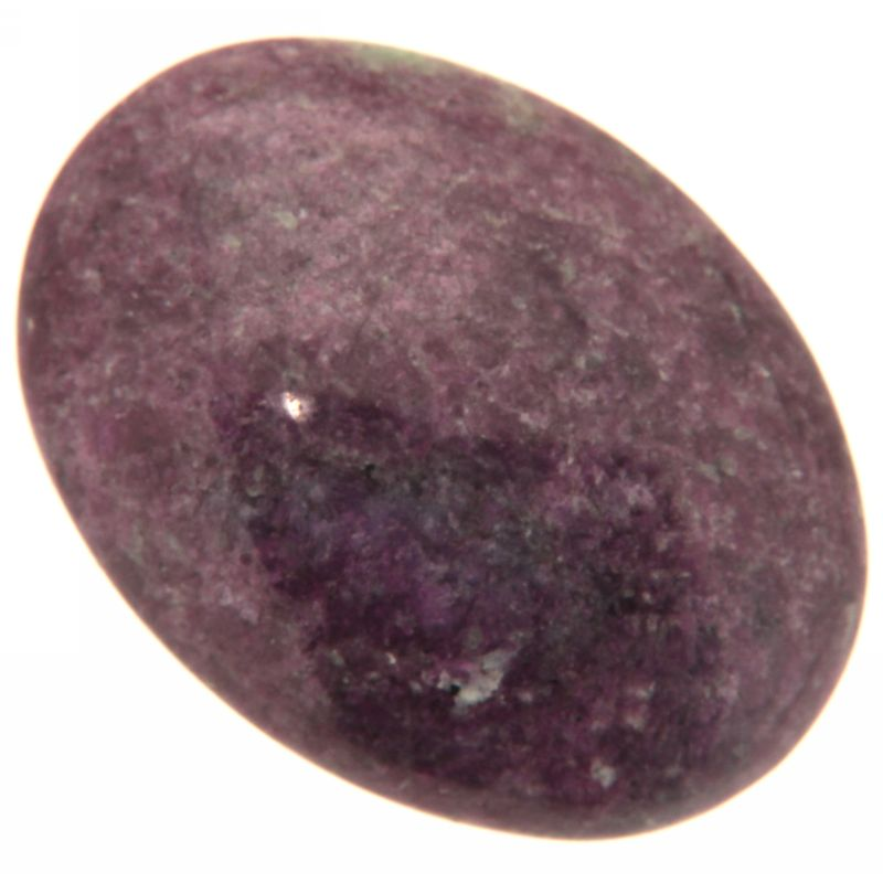 Cabochon Rubin in Zoisit oval 22 x 30 mm