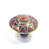 Inele Nepal rotund 43 x 43 mm