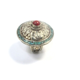 Inele Nepal rotund 40 x 40 mm