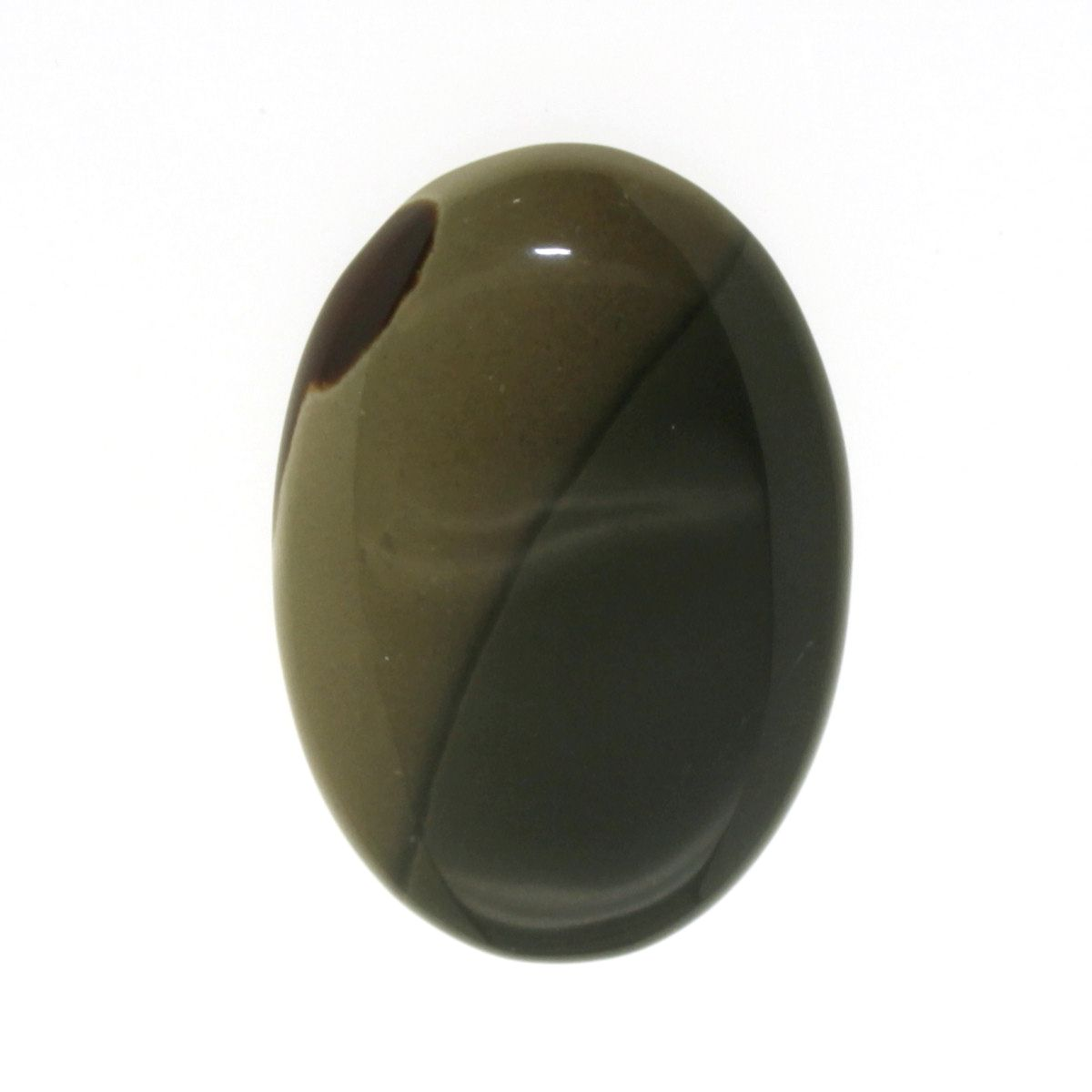 Cabochon Jasp (Jasper Fancy) bej oval 44 x 0.6 mm